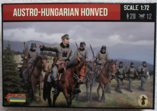 Strelets 1/72 ST0074 Austro-Hungarian Honved (WW1)